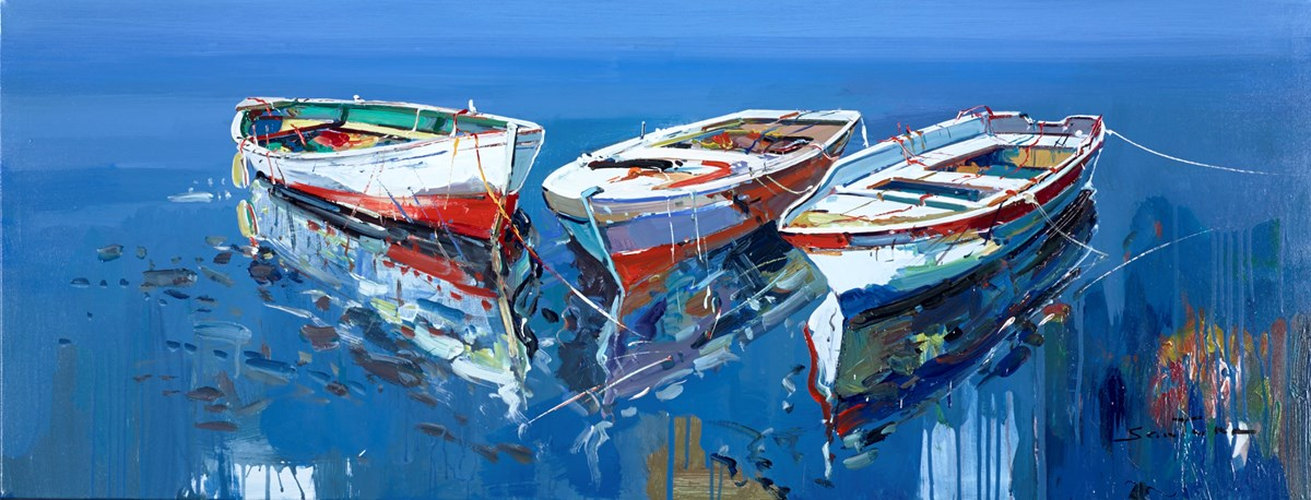 Harbour View III by santana -  sized 51x20 inches. Available from Whitewall Galleries